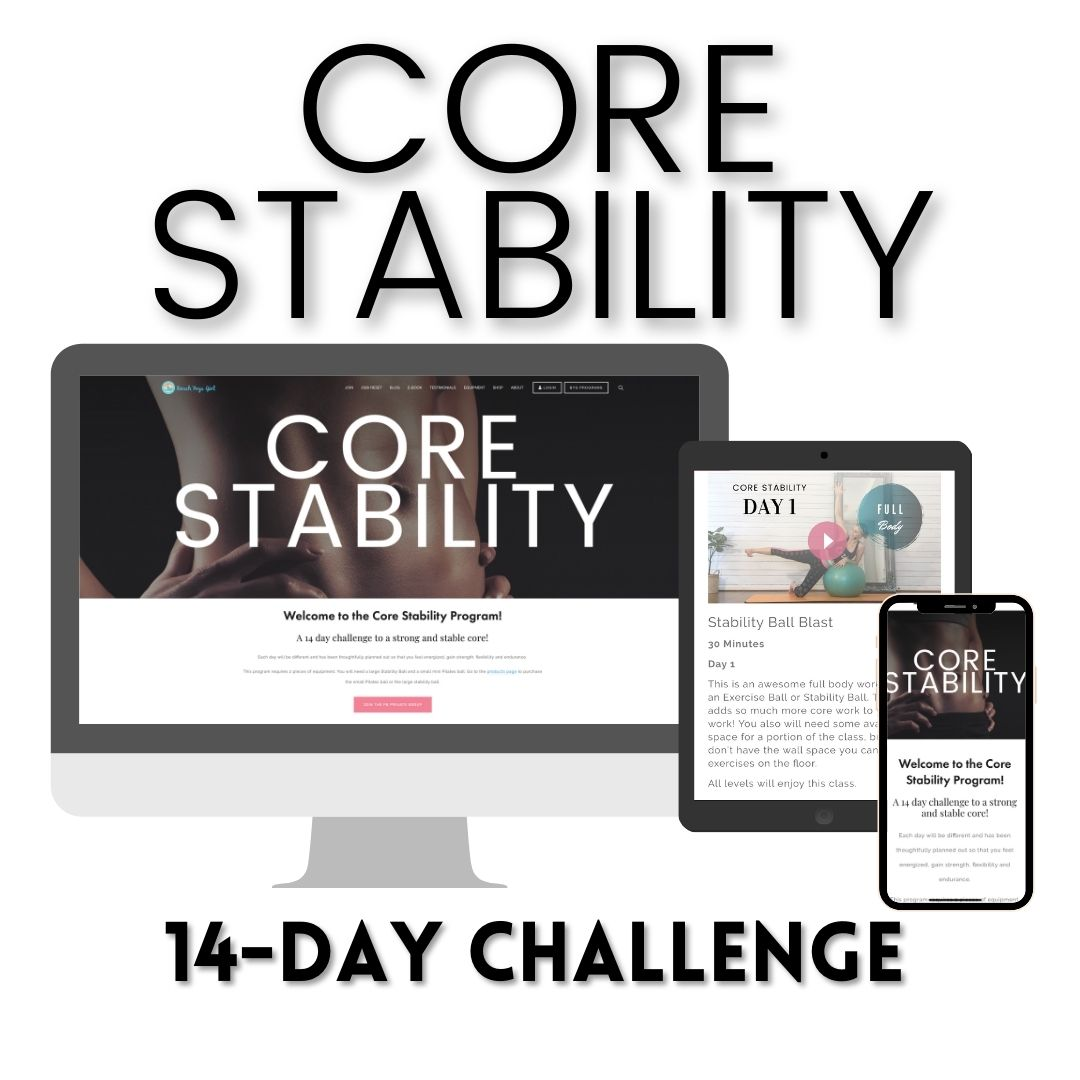 Core Stability Home workout program