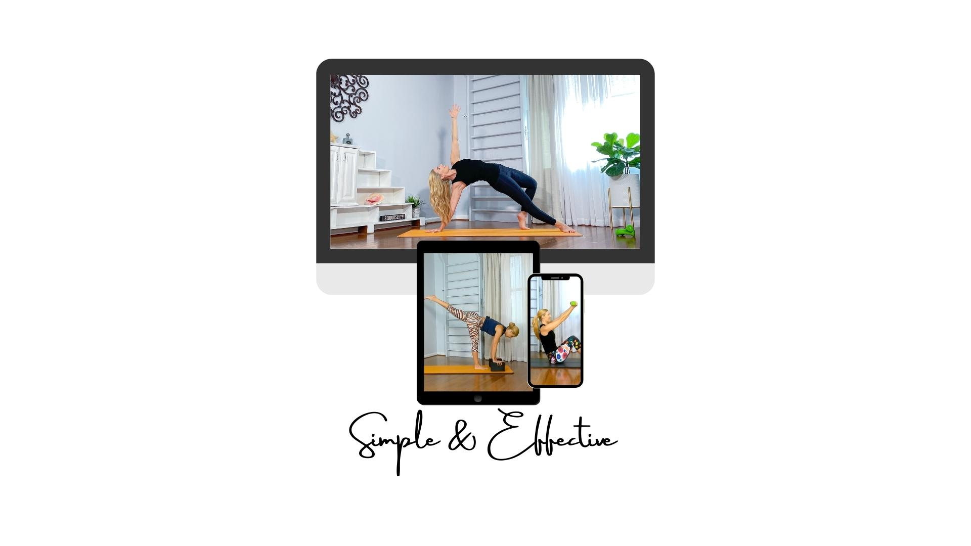 Online home workouts